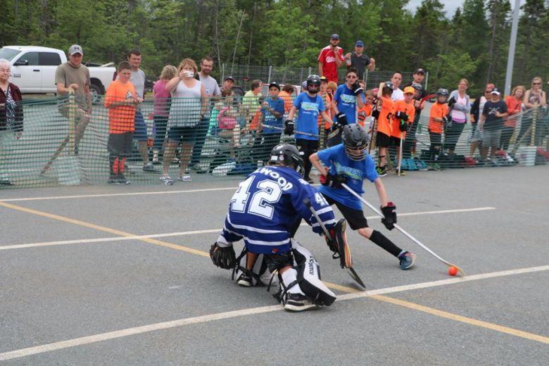 Ball Hockey website