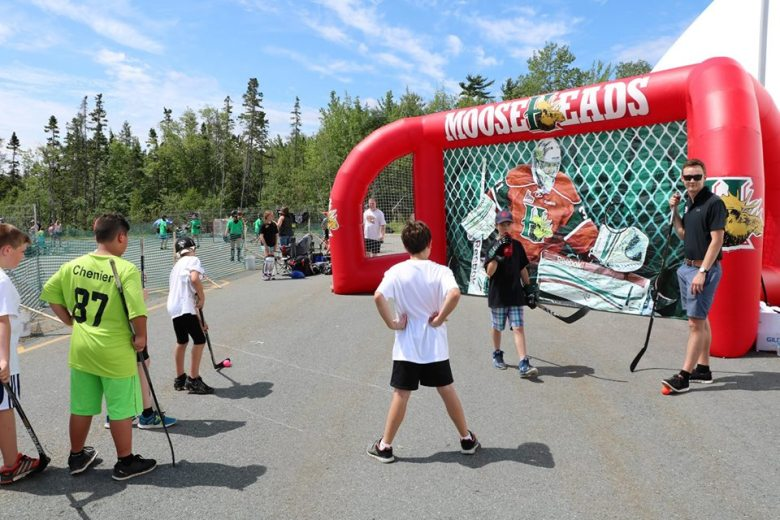 Ball Hockey 2 with Mooseheads